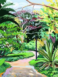 Hort Park, Singapore iPad Painting | Flickr - Photo Sharing!