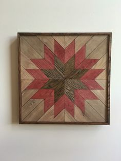Wood Wall Art - Wooden Wall Hanging Quilt Design, Quilt Pattern Wood, Rustic Wall Art, Reclaimed Wall Art, Rustic Quilt, Quilt Pattern