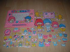 【????】Paper Doll Set ★Little Twin Stars★
