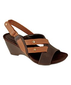 Take a look at this Agape Brown Aconga Sandal today!