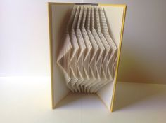 Book Art Book Folding Page Folding Book by MaplewoodBookArt Recycled Books, Book Sculpture, Book Folding, Altered Books, Scrapbooks, Paper Art, Book Art, Etsy, Decor