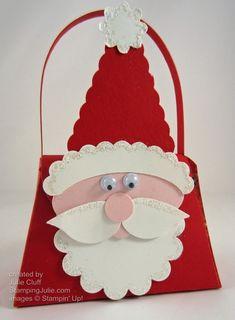 Make A Santa Treat Purse