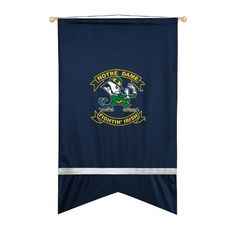 Notre Dame Fighting Irish Sidelines Wall Flag