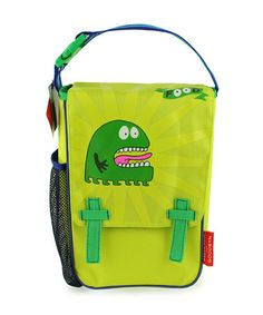 Another great find on #zulily! Green Monster Insulated Bag by Goodbyn #zulilyfinds