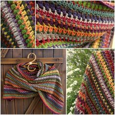 Ravelry: Stashbuster Blarf (Rectangular Shawl) by Esther Sandrof