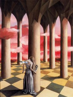 Remedios Varo - Rheumatic Pain, 1948