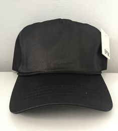 5d58e971 EPTM Satin Adjustable blank Hats Black with tag #fashion #clothing #