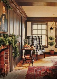 Colonial Decorating historic period interior design and home decor: the american