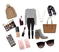 """Casual fashion"" by shartnett-rth ❤ liked on Polyvore featuring Glamorous, rag & bone, Michael Kors, JFR, Humble Chic, Ray-Ban, MAC Cosmetics, NARS Cosmetics, Urban Decay and Chicnova Fashion"