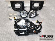 FIAT 500 Fog Light Kit - Ivory Switch Panel Special Order