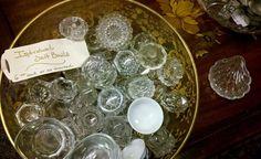New Uses for Vintage Crystal Salt Dishes