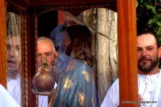 Santu Srabadori nel villaggio di San Salvatore, presso Cabras, Oristano, Sardinia...