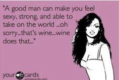 Men vs. Wine