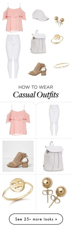 """Casual / Cute Look #60secondstyle"" by alainamorgan on Polyvore featuring BB Dakota, Aéropostale, Nadri, Bling Jewelry, Bing Bang, 60secondstyle and PVShareYourStyle"