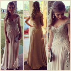 Inspiração pro meu vestido de formatura :D