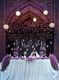 Bride & groom seating area!