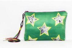 Pochette by Marta Fofi stella borsa di stoffa di Martafofiartworks
