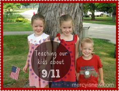 teaching our kids about 911 ~ ideas, resources, links and books to share with your children to help them learn more about this day in our history American History Lessons, History For Kids, History Activities, Learning Activities, Teaching Kids, Kids Learning, School Days, Social Studies Lesson Plans, September