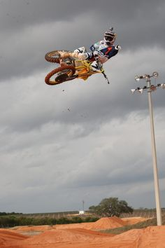 Dirt bikes can fly too