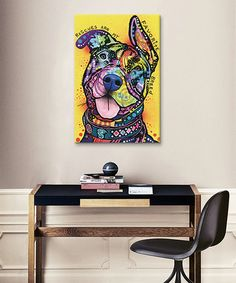 Love this My Favorite Breed Wrapped Canvas on #zulily! #zulilyfinds