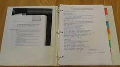 Reading Strategies binder for teachers