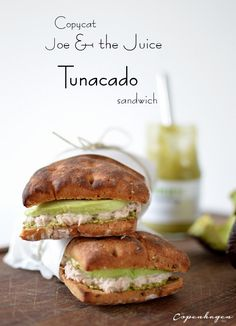 Copycat Joe & The Juice Tunacado sandwich