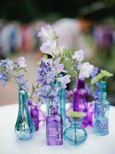 Blue & purple inspirations /// via blue week Bohème Circus