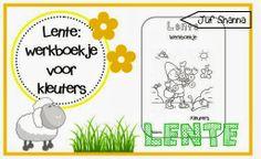 Thema lente: werkboekje voor kleuters!