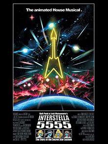 "Somehow I'd never seen Daft Punk's ""Interstella 5555"" - until last weekend. Loved it."