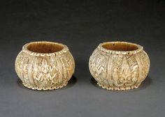 Pair of armlets   Yoruba peoples, Owo, Nigeria   16th to18th century   Ivory