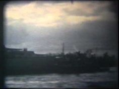 A video clip showing the Battleship NC entry into Wilmington in 1961