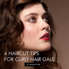 4 haircut tips for curly haired gals // great hair tips!
