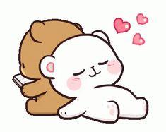 Line Sticker Indonesia . Indonesia Sticker line sticker indonesia Cute Cartoon Images, Cute Couple Cartoon, Cute Love Cartoons, Cartoon Pics, Cute Cartoon Wallpapers, Cute Love Gif, Cute Love Pictures, Calin Gif, Gif Lindos