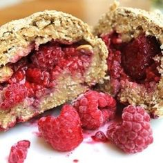 Berry-Centred Oat Buns