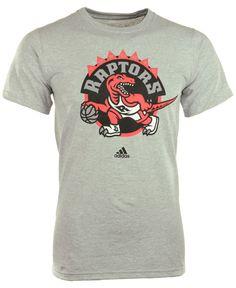 adidas Men's Short-Sleeve Toronto Raptors Primary Logo T-Shirt