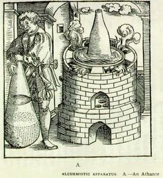 """Alchemistic apparatus, H. Stanley Redgrove, """"Alchemy: Ancient and Modern"""", 1911"""