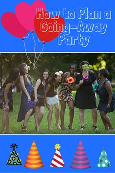 Planning a going away party for yourself or for a friend is always bittersweet, but it will be extra Holiday Party Games, Adult Party Games, Christmas Party Decorations, Christmas Games, Farewell Decorations, Farewell Party Games, Farewell Parties, Moving Away Parties, Creepy Halloween Party