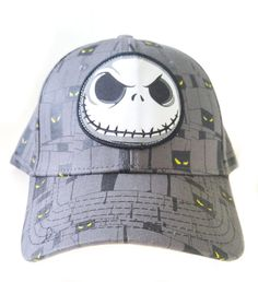 944095f43bd Disney Jack Skellington Eerie Eyes Baseball Cap