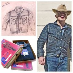 2010 sketch and first edition MF® 'Ranch Blouse' Re-issued this Fall 2013 as Denim Button Up, Button Up Shirts, Cowboys Shirt, Smart Outfit, Blouse, Jeans, Jackets, Clothes, Ranch