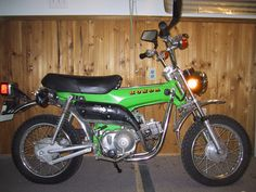 1973 ST90 Honda. A gift from my dad to my sister & I. I rode on back while my sister attempted a wheelie that had both her and the 90 on top of me.