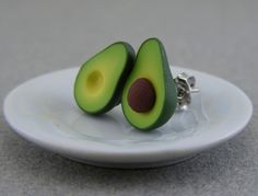 Avocado earrings!