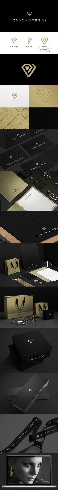 Reposicionamento da marca Omega Dornier, uma das maisores marcas goianas no segmento de joias. Projeto: Branding (marca e Identidade corporativa) e MKT designer: Priscila Áquila