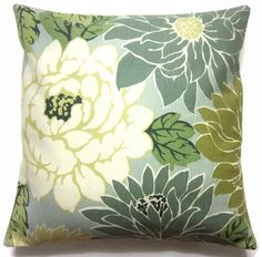 Two Mint Green Off White Olive Teal By LynnesThisandThat 3000 PillowsPillows For CouchCushionsColor