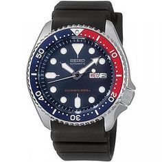 $155.00 Seiko Divers Automatic Blue Dial Mens Watch SKX009K1
