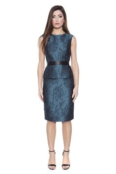AG Phillips - Catherine Dress in Teal