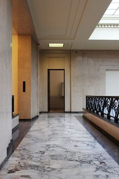 villa empain, bruxelles -- stone and art deco influence