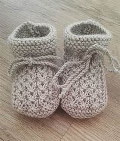 Baby Bootie Knitting Patterns | Baby booties, Knitting ...