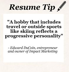 Hobbies For Resume Amusing Here Are Some Useful Resume Writing Tips That Will Definitely Help .