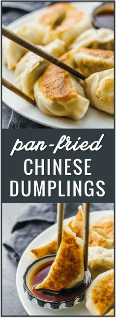 Pan-fried Chinese dumplings recipe, potstickers, pork dumplings, easy dumplings, how to cook dumplings from scratch, beef dumplings, fried, frozen, boil, filling ideas, authentic, homemade, chicken, for soup, asian