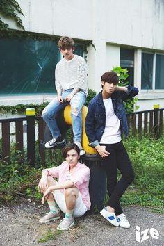 choi seungcheol x chwe hansol x kim mingyu for ize magazine